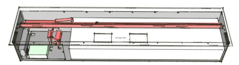 Испарительная система автоматического биокамина
